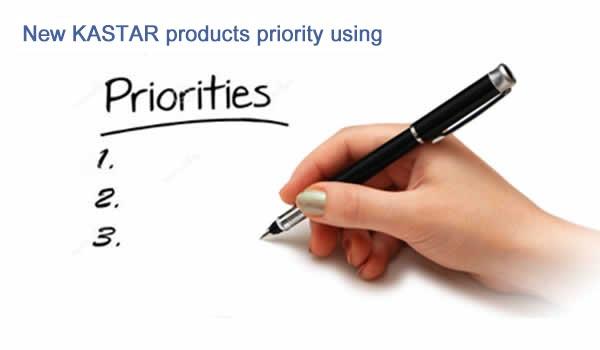 Kastar brands priority