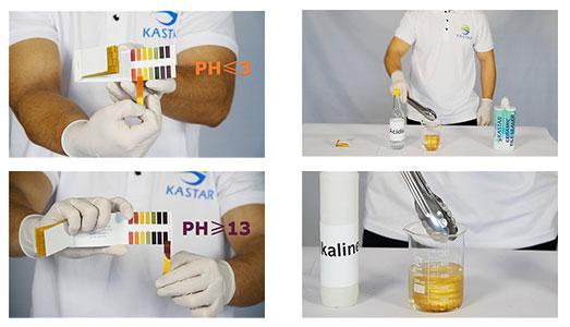 acid and alkaline test
