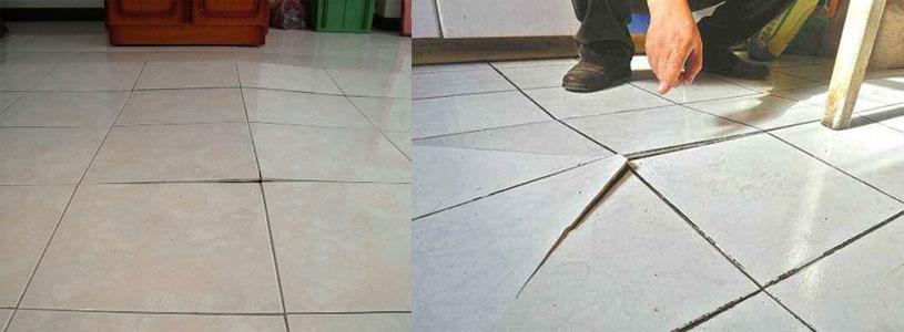 tile crack