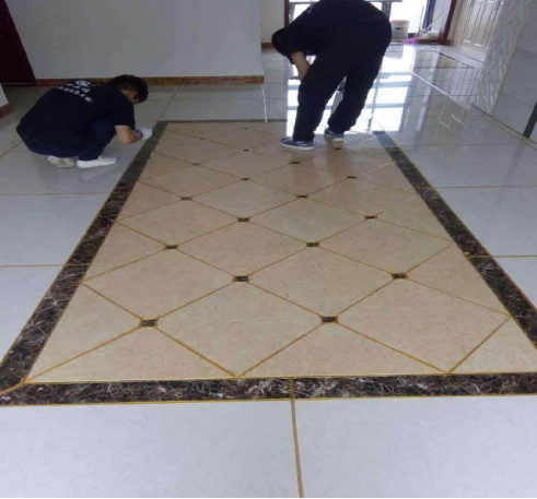 grout sealer operation