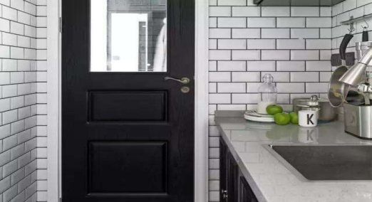 Grey tile grout